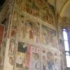 Padova, Chiesa degli Erem<br />itani (Santi Filippo e Gi<br />acomo), Affreschi nella C<br />appella Maggiore, 1361-13<br />65, 14.08.2009. :: Wnętrze kaplicy w chórze <br />kościoła Eremitów w Padwi<br />e ozdobione zostało obsze<br />rnym cyklem malowid