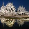 Wat Rong Khun  :: To świątynia buddyjska ok. 12 km na południe od Chiang Rai w Tajlandii. Wybybudowana przez buddyjski