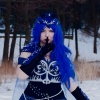 Luna- My litlle pony :: Wspomnienie zimowej sesji<br />    Strój: Księżniczka Lu<br />na wersja ludzka według m<br />ojego projektu (obecn