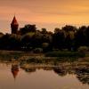 Na dobre sny -:) ::    Zachod nad  rzeka Noga<br />t Malbork