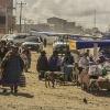 Zwyczajny dzień ... na sk<br />rajach  La Paz  które peł<br />ni rolę stolicy w Boliwii<br />..( konstytucyjna Stolica<br /> to  Sucre)