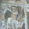 Andrea Mantegna, Andata d<br />i San Giacomo al martirio<br />, 1453-1457, affresco nel<br />la Cappella Ovetari, Chie<br />sa degli Eremitani, Padov<br />a, 14.08.2009.