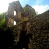 ruiny zamku w Świnie