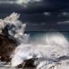 mroczny poranek :: sztormowy poranek nad Oce<br />anem Południowym ( Port E<br />liot)