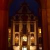 Nocą w Füssen. :: F&amp;uuml;ssen, Bawaria.<br /> Dla wnikliwych:  Wszystk<br />ie ozdoby, stiuki, wykusz<br />e, kolumienki są namalow