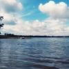 Obłoki nad wodą