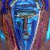 Niebieska maska- w sam ra<br />z na arfykańskie upały- m<br />ój malunek