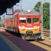 EN57-1331rb ::  EN57-1331rb jako pociąg <br />regio relacji Tarnów - Kr<br />aków Główny oczekuje na o<br />djazd ze stacji Tarn